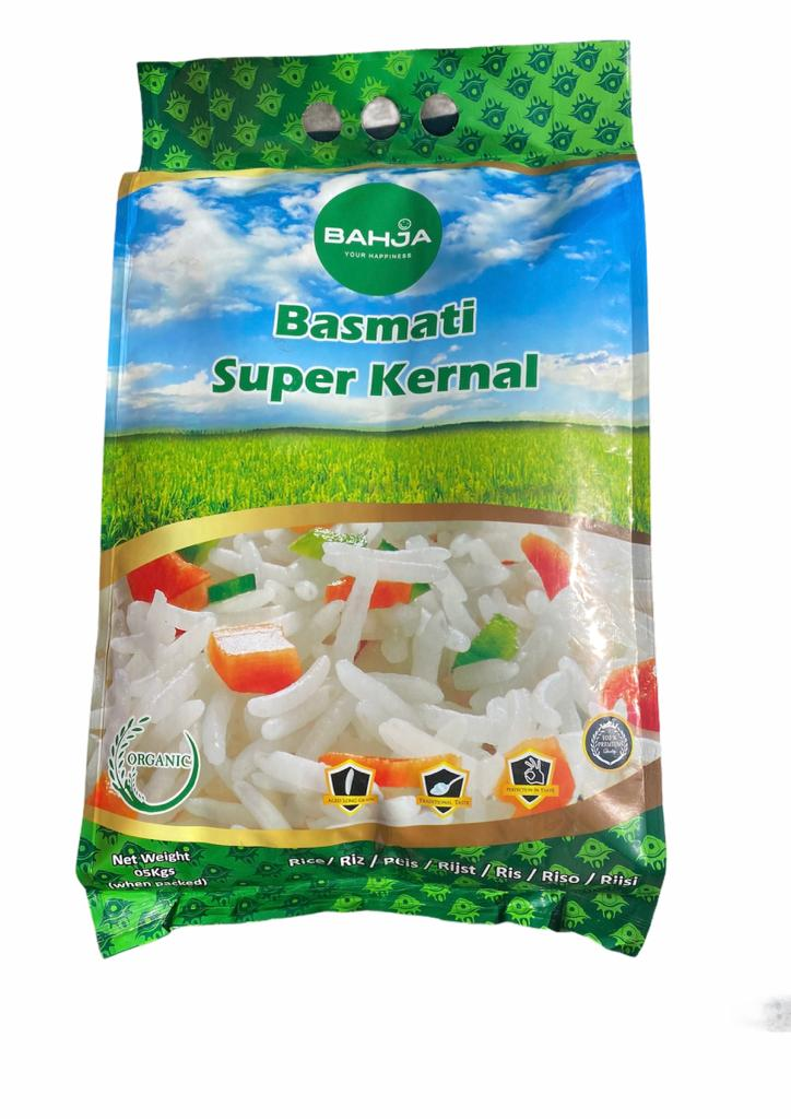 BAHJA BASMATI RICE SUPER KERNAL 5KG